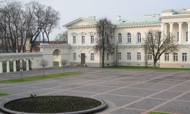 ארמון הנשיאות, וילנה